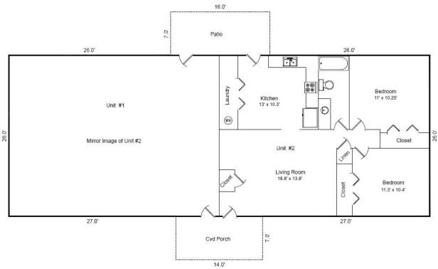4 Plex Building Plans House Plans Home Designs